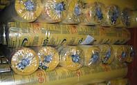 Пленка полиэтиленовая тепличная 12 СТ 3метра/100мкр/50м (желтая)