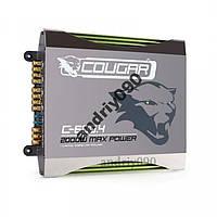 Усилитель автомобильный авто CAR AMP Cougar 600.4