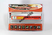Преобразователь напряжения(инвертор) 12-220V 2000W