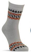 12В417р.14-16 Шкарпетки дитячі зима БЕЖ 78740 Ч