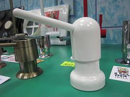 Дозатор моющего средства белый глянец Damixa (Италия)