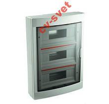 Розподільний щиток Viko (Бокс Box) 36 модулів зовнішній