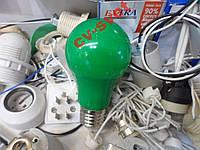 LED Лампа 3w цветная зеленая HOROZ / Spectra