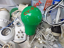 LED Лампа 3w кольорова зелена HOROZ / Spectra