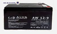 AGM аккумулятор ALVA AW 12В-9Aч