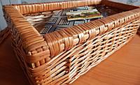 Галстук мужской в коробке плетеной