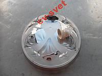 Светильник настенно-потолочный под экономку серебро