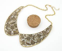 Старинная ретро подвеска воротник ожерелье