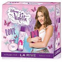 Детский подарочный набор La Rive VIOLETTA LOVE (Туалетная вода/дезодорант)