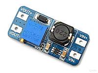 MT3608 повышающий DC/DC преобразователь напряжения с 2-24В до 28В (2А)