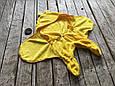 Универсальный махровый спальник, желтый, 6-12 мес., фото 6