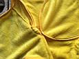 Универсальный махровый спальник, желтый, 6-12 мес., фото 3