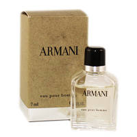 Мужская туалетная вода Armani Pour Homme for Men Eu de Toilette (EDT) 7ml, Mini , фото 1