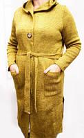 Модный женский кардиган с капюшоном 731