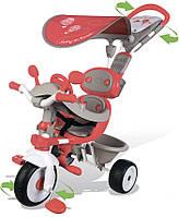 Детский металлический трехколесный велосипед Smobi Вояж (434208)