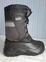 Мужские ботинки зимние лёгкие, тёплые в наличии