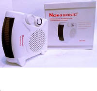 Тепловентилятор FAN HEATER NK 202, обогреватель электрический, тепловентилятор для дома, дуйка