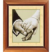 Набор для рисования квадратными камнями R1604. ВМЕСТЕ НАВЕКА