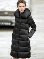 Куртка на молнии с широким воротником