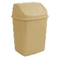 Відро для сміття з поворотною кришкою 5 л Алеана, фото 3