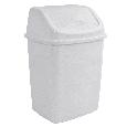 Ведро для мусора с поворотной крышкой 5 л  Алеана, фото 2