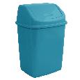 Ведро для мусора с поворотной крышкой 10 л  Алеана, фото 4