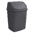 Ведро для мусора с поворотной крышкой 5 л  Алеана, фото 5