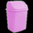 Ведро для мусора с поворотной крышкой 5 л  Алеана, фото 6