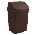 Ведро для мусора с поворотной крышкой 5 л  Алеана, фото 7