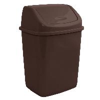 Ведро для мусора с поворотной крышкой 18 л  Алеана