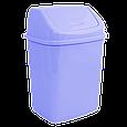 Ведро для мусора с поворотной крышкой 5 л  Алеана, фото 8