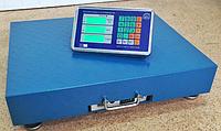 Весы торговые электронные платформенные до 100 кг Wi-FI, фото 1