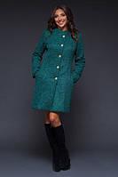 Пальто женское из букле на пуговицах P4160