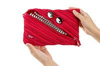 Пенал GRILLZ JUMBO, цвет RED (красный), Zipit