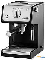Кофеварка эспрессо Delonghi ECP 33.21 BK Silver