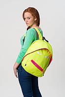 Рюкзак GRILLZ, колір BRIGHT LIME (яскравий лайм), Zipit