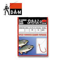 Крючки с поводком SUMO DAM 10  0.14  мм/60 см/ROTAUGE