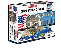 Объемный пазл 4D Cityscape Сан-Франциско США 1000 элементов (40044)