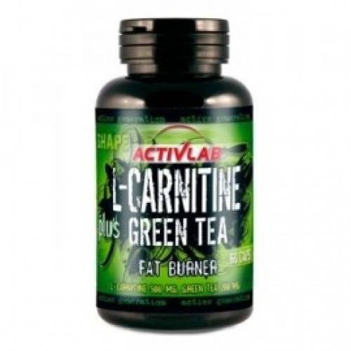 ACTIVLAB L-CARNITINE PLUS GREEN TEA 60CAPS