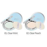 Прозрачная компактная пудра для лица - Missha The Style Fitting Wear Sebum Cut Pressed Powder #1 Clear Peach - M2627