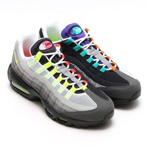 0211161c Кроссовки в стиле Nike Air Max 95 Multicolor мужские: фото, купить в Киеве,  самые новые модели. Все кроссовки и кеды от