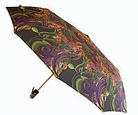 Зонт автомат Антишторм Love Rain Завитушки черный