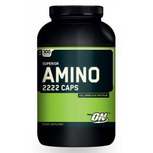 OPTIMUM NUTRITION AMINO 2222 300 КАПСУЛ