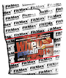 FitMax Whey Pro 81+ 2,250kg bag