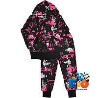 """Спортивный костюм """"Абстракция"""" , из трикотажа (интерлок) , для детей от 4-8 лет"""