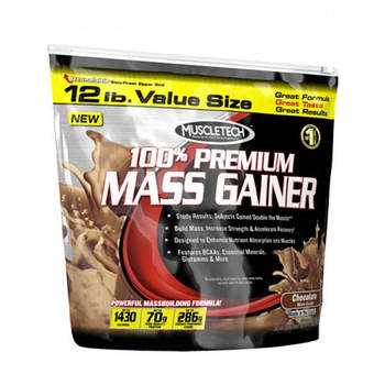 MUSCLETECH 100% PREMIUM MASS GAINER 5,5 КГ