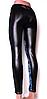 Лосины-брюки с карманами под кожу Польша M-L,XL-XXL, фото 2