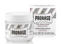 Крем до бритья для чувствительной кожи PRORASO 100 мл.