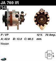 Генератор Nissan/ Rover70 Амр. JA769IR