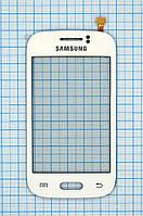 Тачскрин сенсорное стекло для Samsung S6312 Galaxy Young Duos white